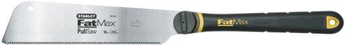 Stanley FatMax Japansäge (fein 17 Zähne/Inch, JetCut-Verzahnung, DynaGrip-Griff, werkzeugloser Sägeblattwechsel) 0-20-500