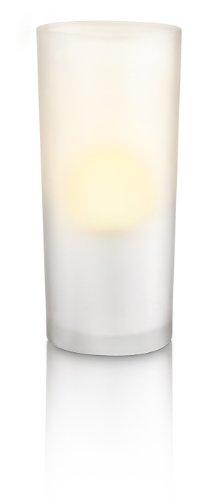 Philips Accents CandleLights - Set de 3 lámparas tipo vela decorativa, iluminación de interior, LED, color blanco
