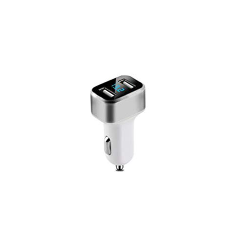 DONGJING 2.1A Dual-USB-Digitalanzeige Multifunktions-Kfz-Ladegerät Quick Adapt-led