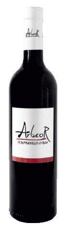 Vino Rosso Arbeor Tempranillo-Syrah Biologico