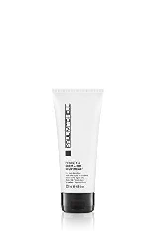 Paul Mitchell Super Clean Styling Gel stark fixirendes Haar-Gel,1er Pack (1 x 200 ml)
