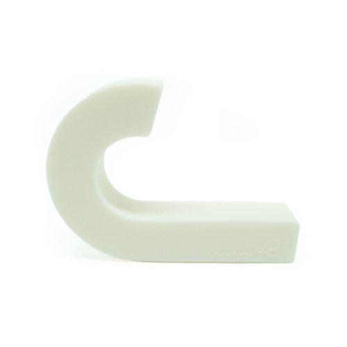 PA Design Patère en Silicone Souple Gum Hook Blanc