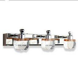 SJMM modern brief bubble crystal column mirror lamp led 9w/45cm
