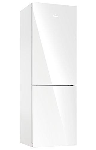 Amica KGC15530WG Kühl-Gefrier-Kombination / A++ / 185 cm Höhe / 212 kWh/Jahr / 214 Liter Kühlteil / 90 Liter Gefrierteil / AntiBacteria Beschichtung / weiß
