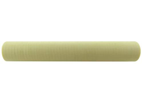 Turners\' Mill Ivory Casein (Galalith) Stange - 150 x 23 x 23 mm (5,9 x 0,91 x 0,91 Zoll), 15,2 x 2,2 x 2,2 cm