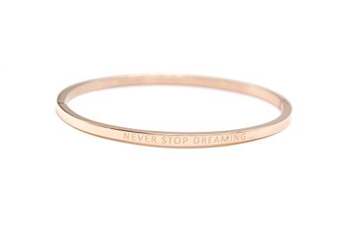 bc2133f-bracelet-jonc-fin-acier-or-rose-avec-message-never-stop-dreaming