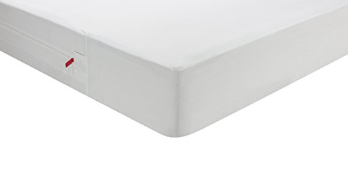 Pikolin Home - Funda de colchón antichinches, impermeable, transpirable e ignifuga, 90 x 190/200 cm, cama 90 (Todas las medidas)
