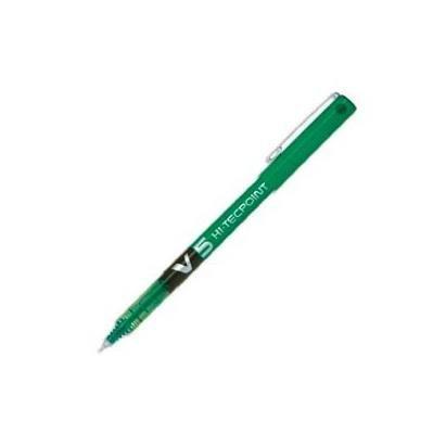 PILOT Tintenroller Hi-Tecpoint V5, grün (Pilot Pen V5 Grün)