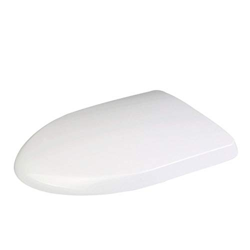 Siège de toilette pot blanc plastique couvercle de toilettes WC couvercle abattant Abattant