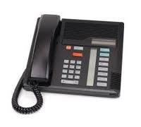 Nortel Norstar Meridian M7208 Phone NT8B30 Black With by Nortel - Norstar Meridian M7208