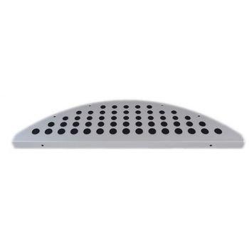 1 Stufenmatte Aluminium - Metall/Gummi Punkte
