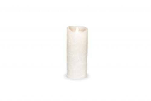 Sompex Vela LED de cera auténtica (, fernbedienbar, Frosted White–En Diferentes Tamaños