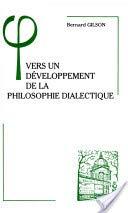 Vers un développement de la philosophie dialectique