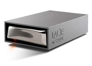 """Price comparison product image LaCie 1TB Starck 3.5""""Desktop Touch Sensitive Hard Drive"""