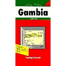 Gambia: Road Map (Country Road & Touring)