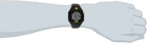 Soleus GPS - Mini reloj de corredor con monitor de actividad física y de salud, negro/verde lima 64.52€