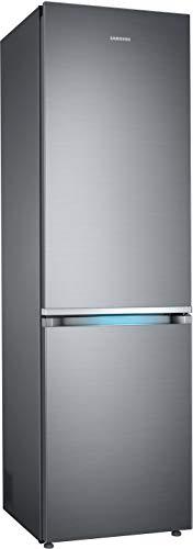 Samsung RB8000 RL36R8739S9/EG Kühl-/Gefrierkombination, 202 cm, A++, 357 L, Premium Edelstahl Look, Kitchen Fit, Cool Select Plus, Grifflicht