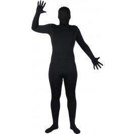 (Wicked Skinz Verrückte All Over Lycra Spandex Skin Suit schwarz, passend für bis zu 6 '2