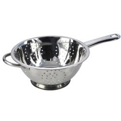 Pendeford Stainless Steel Collection Polished Deep Long Handled Colander (486702)