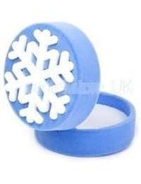 Alcoa Prime Snowflake Necklace Pendant Ring Jewelry Display Storage Mini Gift Box Case Xmas