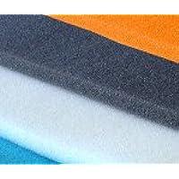 Espuma poliuretano gris oscura en plancha
