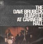 THE DAVE BRUBECK QUARTET LIVE AT CARNEGIE HALL VOL 2 1963 VINYL LP