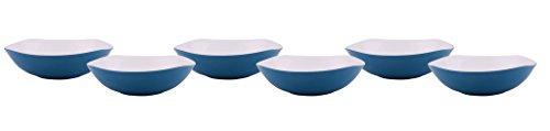 Borosil Melamine Wave Bowl, Set of 6, Blue  available at amazon for Rs.299