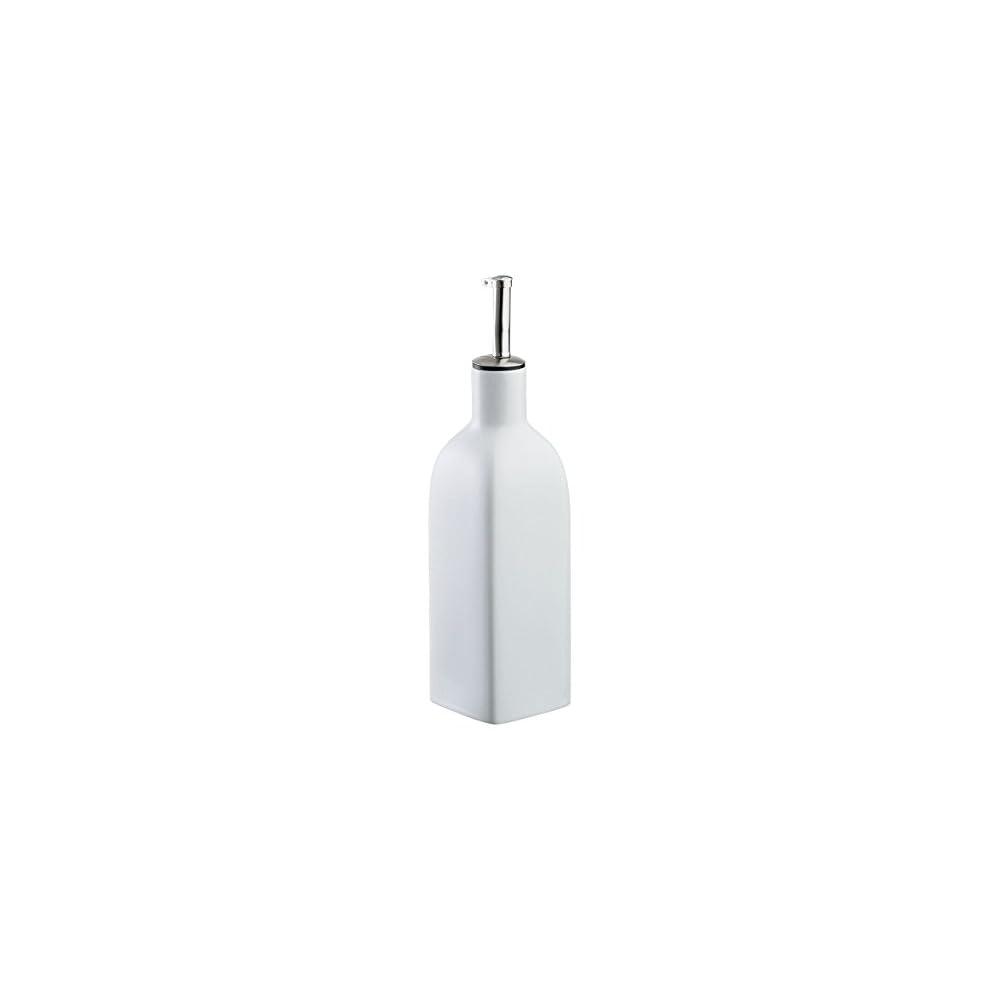 Cilio 107166 Lflasche Mezzo 035 L Keramik Wei 7 X 7 X 30 Cm
