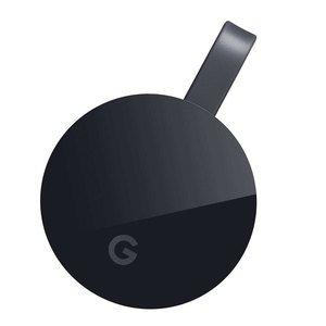 Appareil Multimédia Google Chromecast Ultra de diffusion de contenus 4K Ultra HD et HDR sur port HDMI pour Smartphone et...