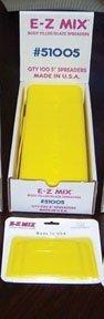 E-Z Mix EMX-51005 E-Z Mix Plastic Filler, Glaze Spreaders, 5 In. Body Filler, Glaze Spreaders by E-Z Mix
