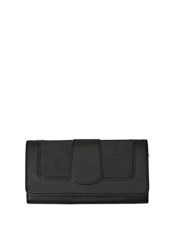 s.Oliver (Bags Damen 39.810.93.5639 Geldbörse, Schwarz (Black), 4x10x19 cm