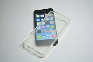 Itab Imported Transparent Clear Silicone Jelly Soft Case Back Cover For Apple Iphone 5 5S