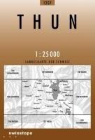 Swisstopo 1 : 25 000 Thun (Landeskarte Der Schweiz)