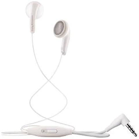 Sony Ericsson MH410 - Auriculares estéreo con micrófono (clavija de 3,5 mm), color blanco