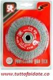 spazzole metalliche SIT circolari art.745 BCO 90