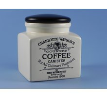 Charlotte Watson Square Small Coffee Canister