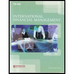International Banking and Finance (Custom) [Paperback] by