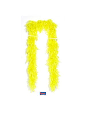 GELBE NEON BOA, verschiedene Farben Karneval Fasching Mottoparty Junggesellenabschied, für NUR 15.97€ ein komplettes Outfit (Boa, Leggings & Hut/Perücke), Katy Perry (Perry Outfits Katy)
