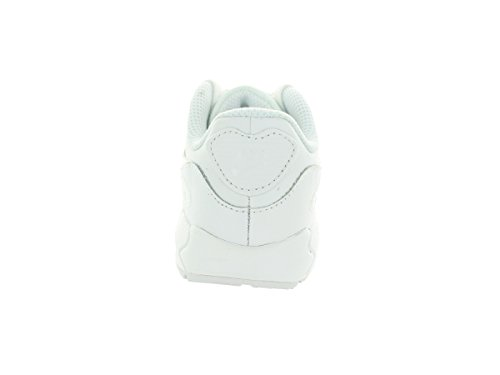 Nike - Air Max 90 Ltr (Td), Scarpe da ginnastica Unisex – Bimbi 0-24 Bianco / Grigio (White / White-Cool Grey)