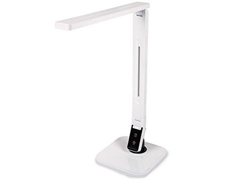 Nagelstudio DESIGN LED ARBEITSPLATZLEUCHTE dimmbar inkl Leuchtmittel - Warmes Licht - Integrierter Timer - Variabel einstellbar - Nageldesign Tisch-Lampe - Kosmetik-Studio Leuchte - BESTSELLER -