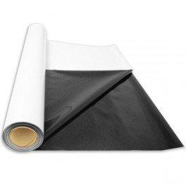 Bache Noir et Blanche - Rouleau 25m