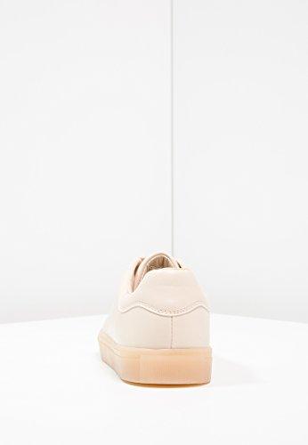 Even&Odd - Sneaker da donna, scarpe da ginnastica, sneaker da donna, metalliche, stringate basse Rosa