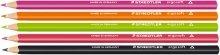 Staedtler 157-9 ergo soft Farbstift, ergonomische Dreikantform, rutschfeste Soft-Oberfläche, 1...