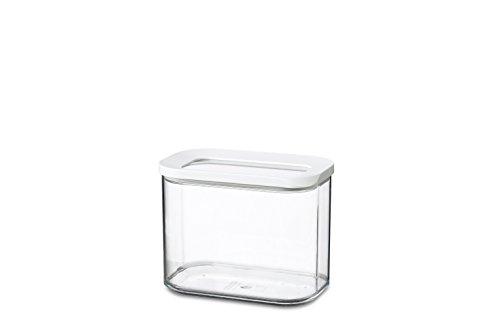 MEPAL Vorratsdose Modula 1000 ml, Plastik, Weiß, 14.4 x 9 x 11.4 cm, 1 Einheiten