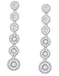SHAZE Solitaire Journey Earring|Earrings for Women|Earrings for Women Stylish