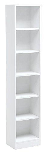 INFINIKIT Haven Bücherregal, schmal - Weiß