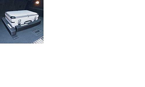 ORDERLY Gepäckfixierung Auto PKW Kofferraum Organizer sichert fixiert befestigt verstaut Ladegut auf Nadelfilz Teppichboden, Klettband Nylon abwaschbar, schwarz