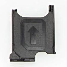 NETBOON® Sony Xperia T2 Ultra Sim Card Holder Plastic Tray Original Genuine Replacement - Black  available at amazon for Rs.299
