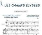 Partition : Champs-Elysées - Piano et paroles