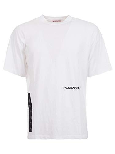 799e2673f PALM ANGELS T-Shirt Uomo Pmaa001s194130440117 Cotone Bianco